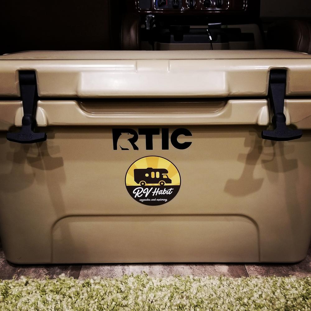 Rtic Cooler 45 Quart Rotomolded Cooler