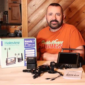 Haloview Handy 7 True Wireless RV Camera System - Backup and Observation