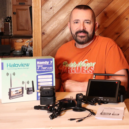 Haloview Handy 7 True Wireless RV Camera System - Backup and Observation