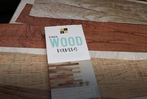 wood faux stick on panels