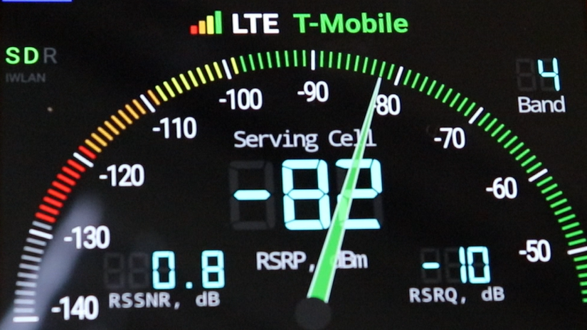 SureCall RV Booster T-Mobile dBm