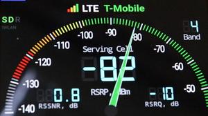 SureCall RV Booster T-Mobile dBm