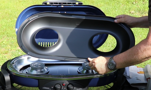 Coleman RoadTrip LX removeable grease tray