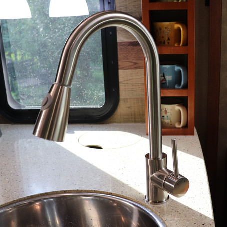 How To Replace And Install An RV Kitchen Faucet – RV Upgrades
