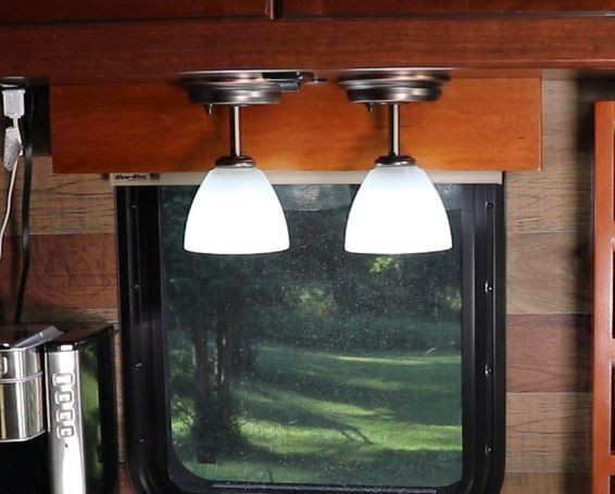 rv chandelier led light fixtures