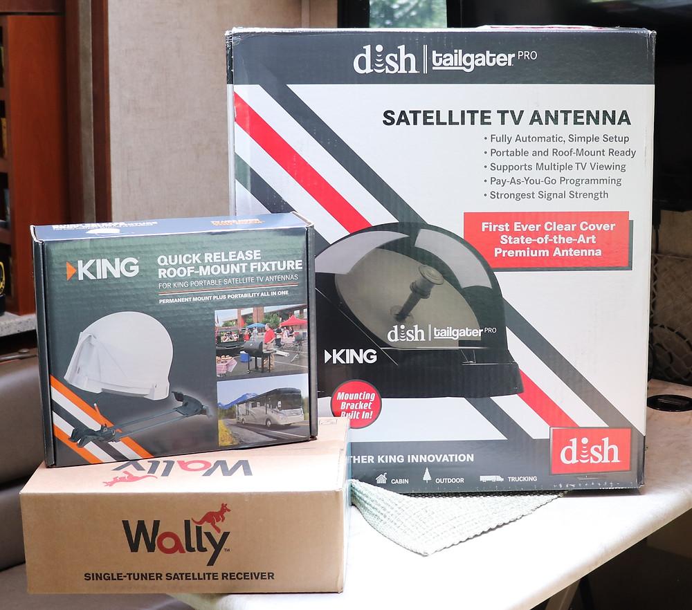 RV Dish and King Satellite TV