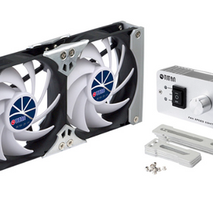 Titan RV Refrigerator Cooling Fan and Speed Controller Install and Review