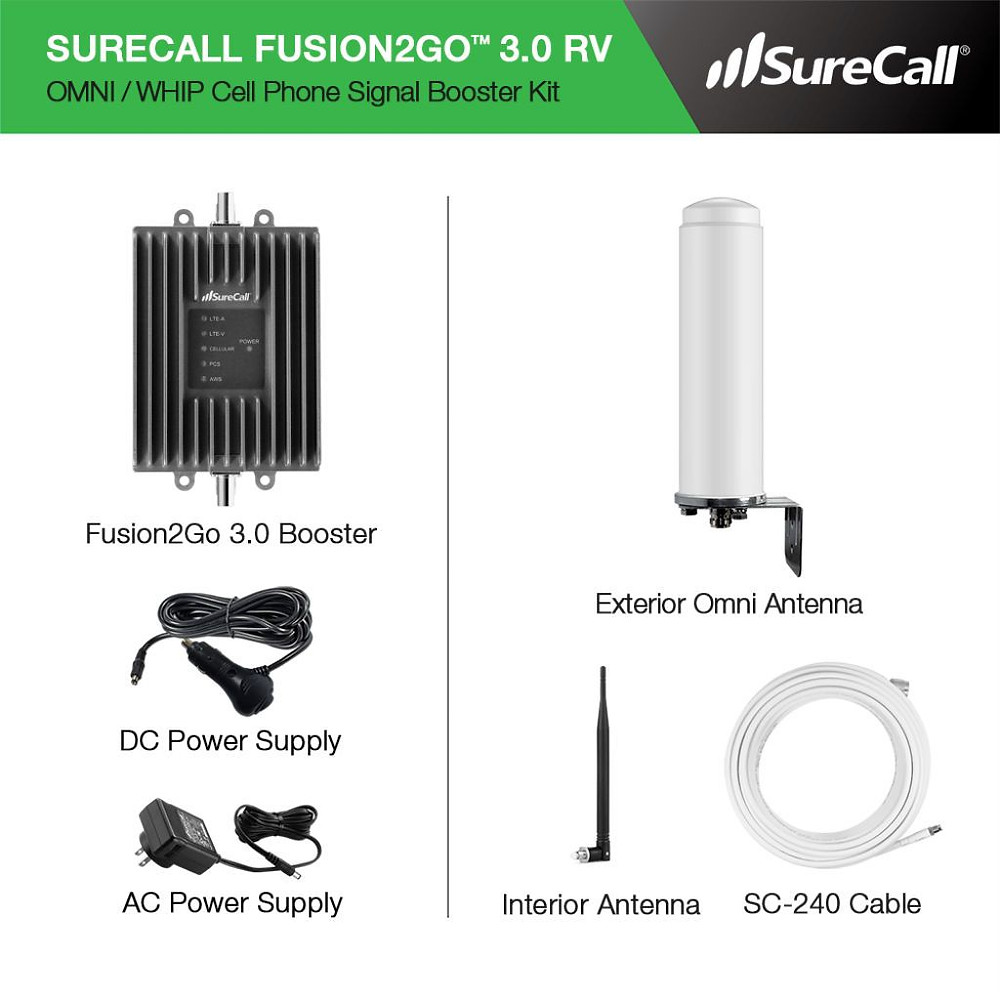 SureCall Fusion2Go 3.0 RV Cell Booster