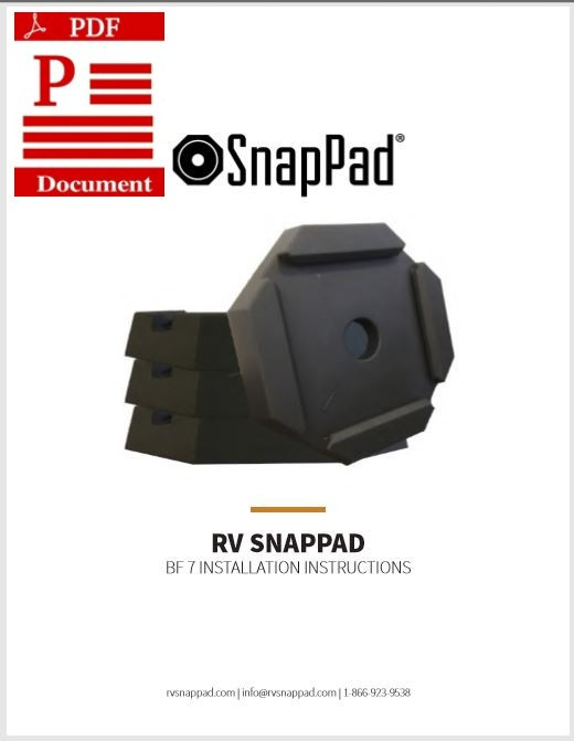 RV SnapPad Instruction Manual