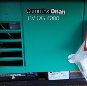 Cummins Onan RV QG 4000 generator exercising, carburetor maintenance & surge prevention