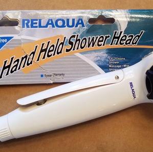 Relaqua High Pressure Shower Head for RV or Trailer