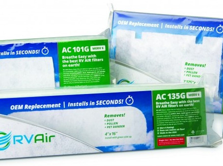 RV Air Conditioner Disposable Air Filter - Review - No More Pollen Mold Spores or Dust