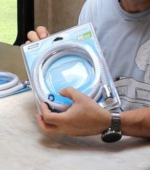Camco 43717 RV Flexible Shower Hose White