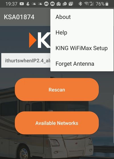 King Falcon WiFi App