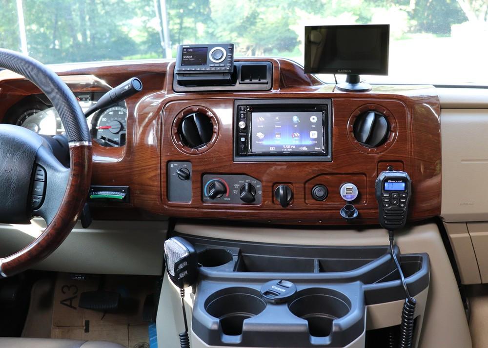 RV Driving Console