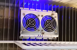 Titan RV Refrigerator Cooling Fan and Controller Install and