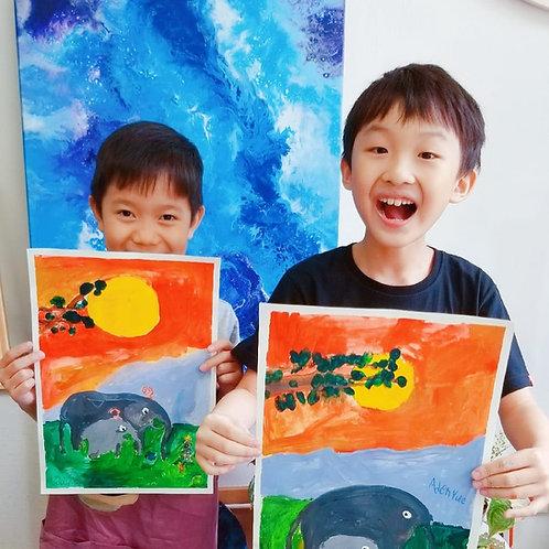 Children's Art & Crafts- 4 Week Course