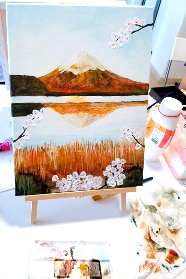 Mount Fuji in Spring