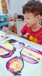 Watercolor & Acrylic