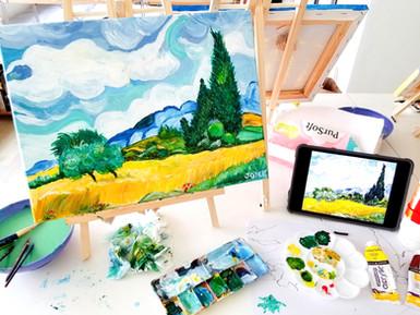 Van Gogh Acrylic Painting Workshop