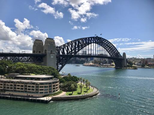 Week-end à Sydney !