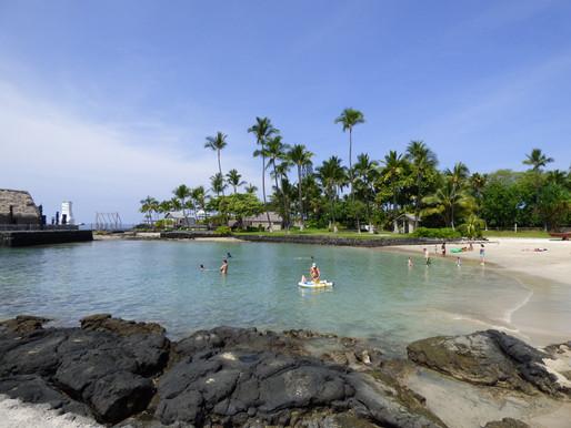 Surf, mer, volcans et oui! Nous sommes à Hawaï