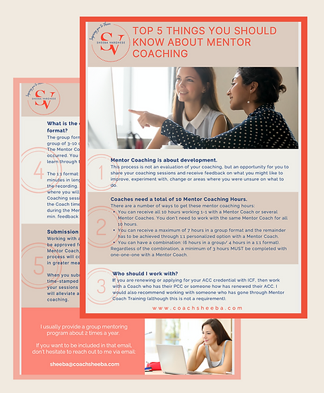 Mentor Coaching Free Guide