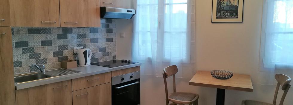 cuisine studio 1er étage