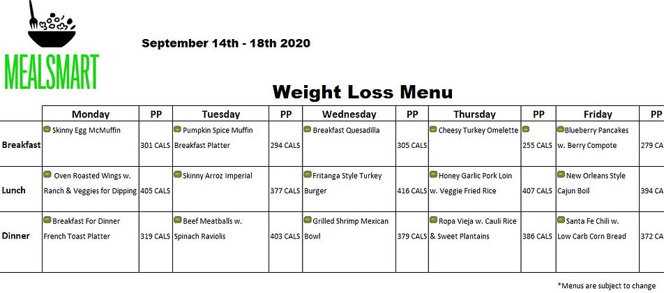 09142020 WEIGHT LOSS MENU.JPG