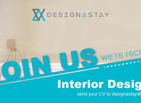Interior Designer, Join Us! We're Recruiting!