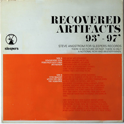 Steve Angstrom- Recovered Artifacts 93'- 97'