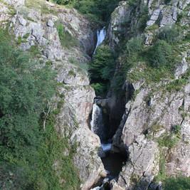 Les cascades vue du promontoir