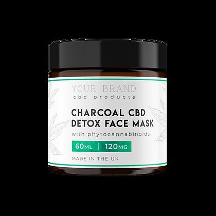 Charcoal CBD Detox Mask