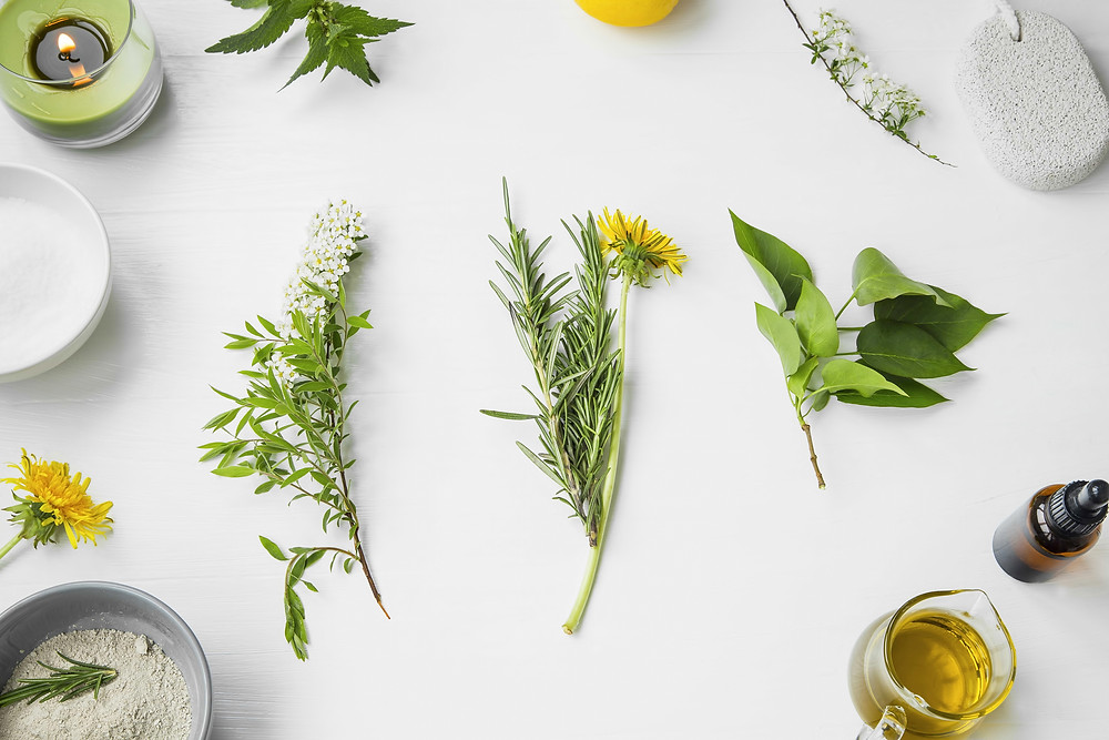 Aromatherapy scent plant-based ingredients