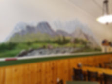 Timber Creek Pizza Co Mural inside
