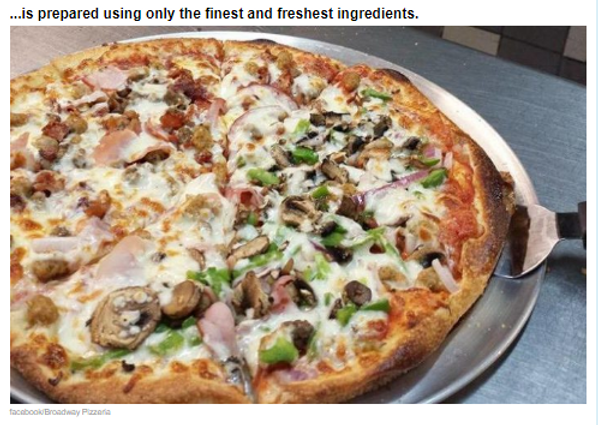 Broadway pizzeria wood fired pizza oven News Articl 2