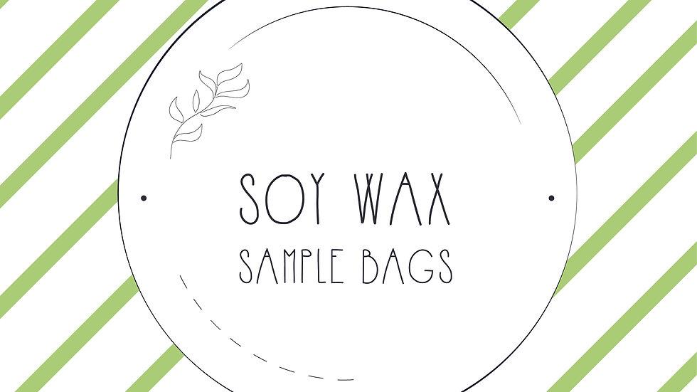 Soy Wax Sample Bags