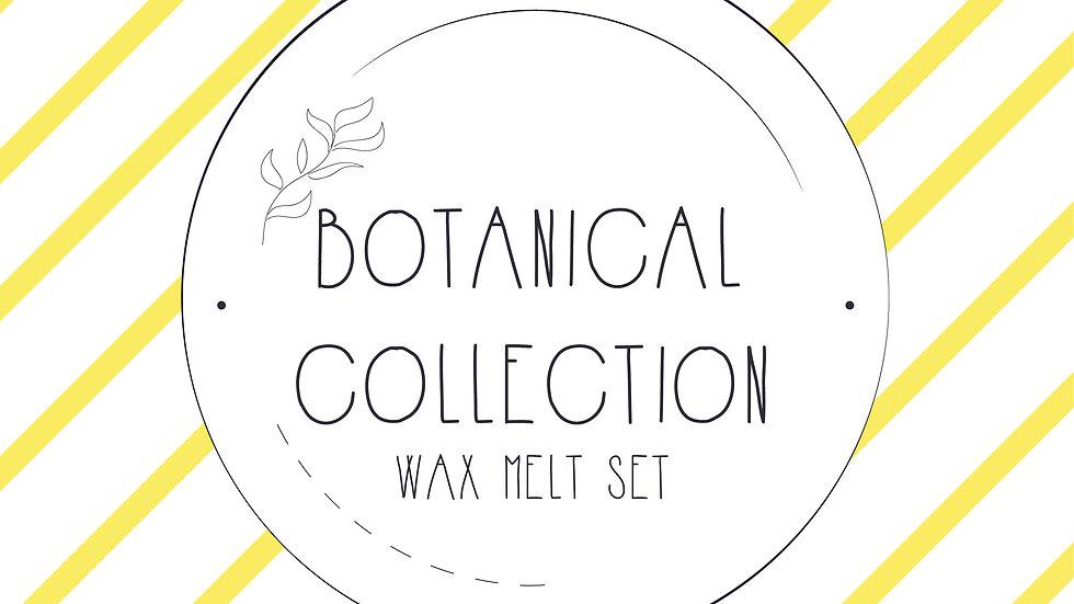 Botanical Wax Melt Collection