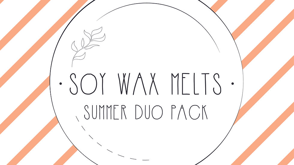 Summer Collection, Duo Wax Melt Pack