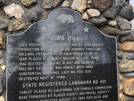 Iowa Hill and Shirttail Canyon