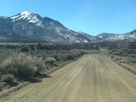 The 5 Times We Crossed Desert Creek (NFDR 027 from Wellington, NV to the Junction with NFDR 050)