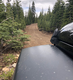 Yuba Pass Road, Forest Route 54, and Frazier Falls