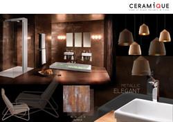 toilet-metallic elegant