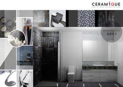 minimalist grey