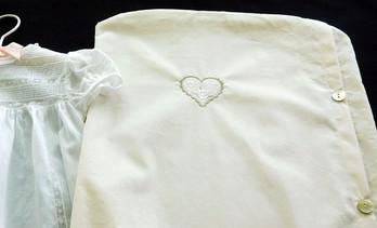 Deluxe Baby Gown Storage