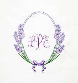Fragrant Lavender Frame