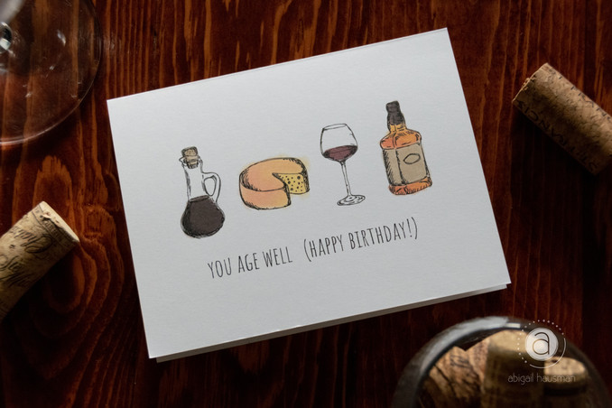 Personal Work: Birthday Cards