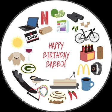 Personalized Birthday Card: Dad