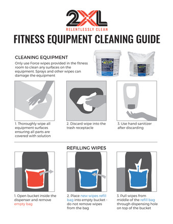 Fitness Equipment Cleaning Guide