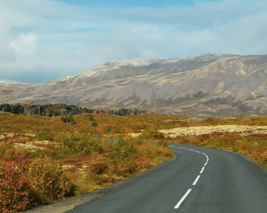 Þingvellir in Autumn